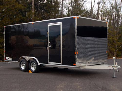 custom contractor trailers