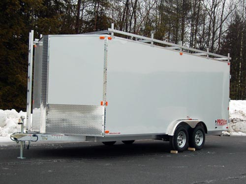 aluminum contractor trailers