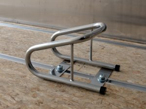 Tubular chrome chock