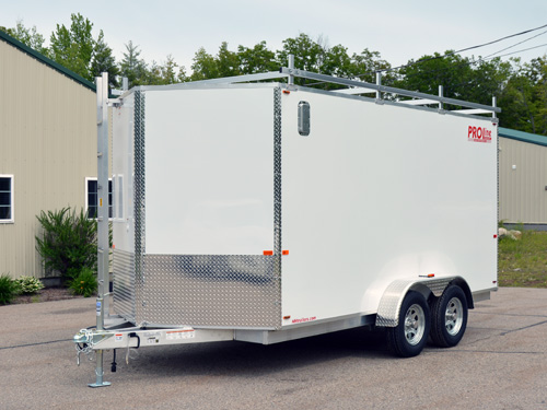 enclosed motorcycle trailer