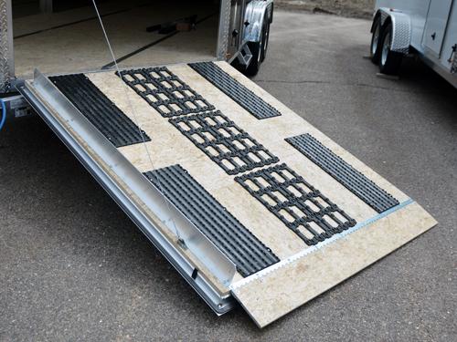 V Nose Deckover Aluminum Snowmobile Trailer Proline