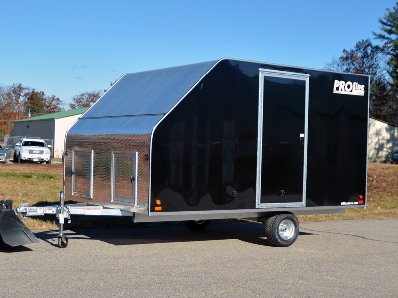2 aluminum snowmobile trailer